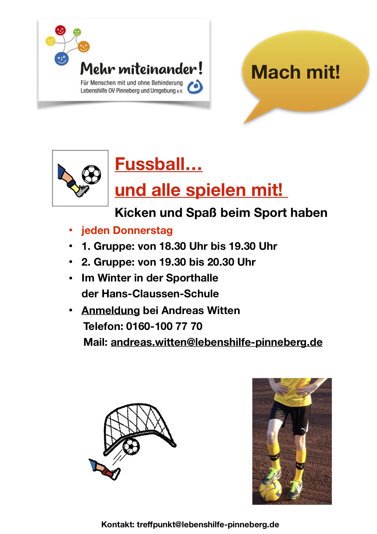 Fussball Winter 2019